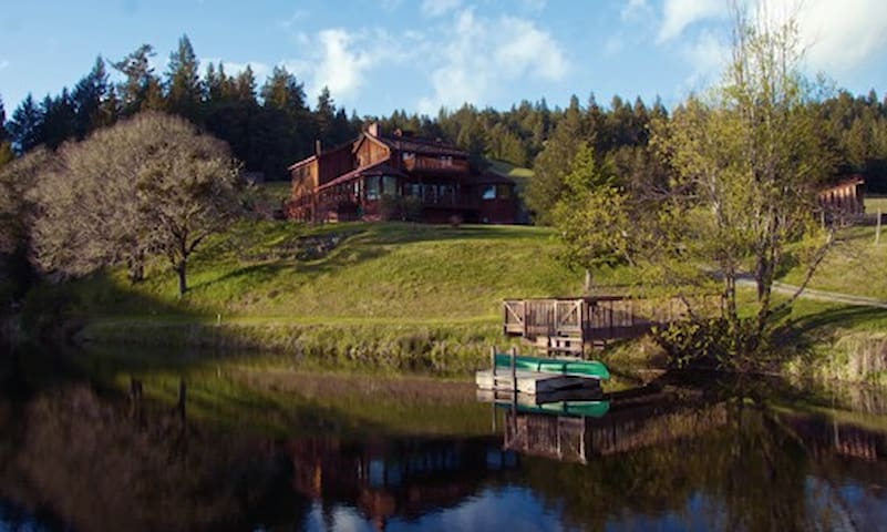 Eco-Estate in the Woods - Ukiah - House