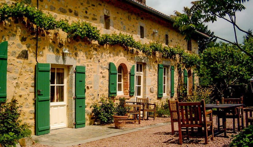 Magical Dordogne Farmhouse and pool - Reilhac - Huis
