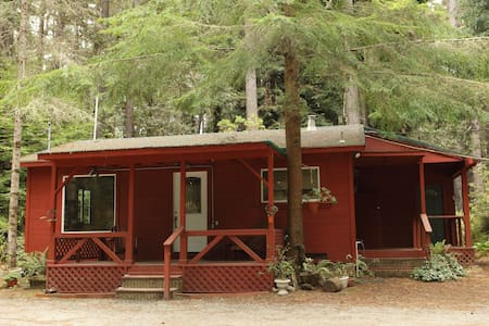 Kona Cabin in the Redwoods