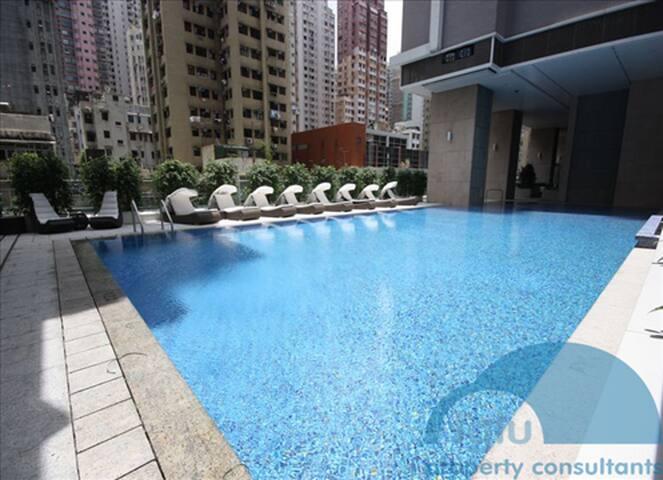 Modern Condo w pool / sport - Hong-Kong, Hong Kong - Apartment