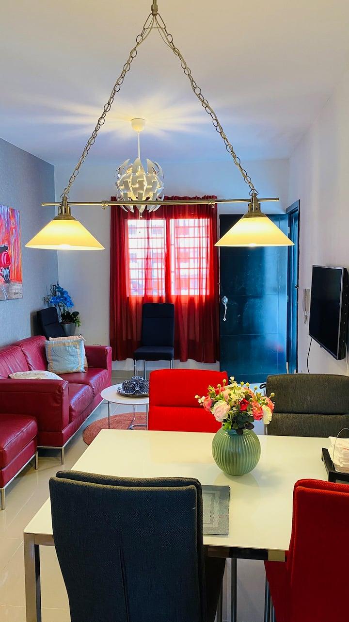 Apartamento Lujoso Completo / Piscina