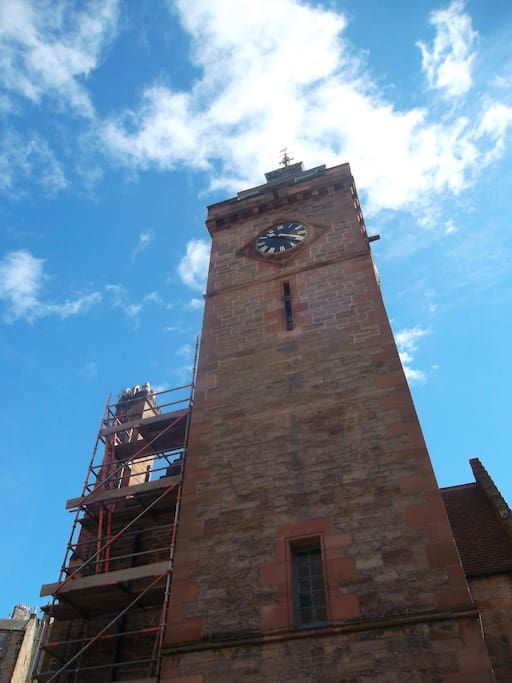 The court clock tower.