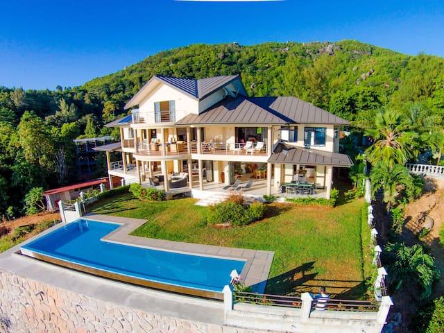 La Vue, Seychelles - Mahé - วิลล่า