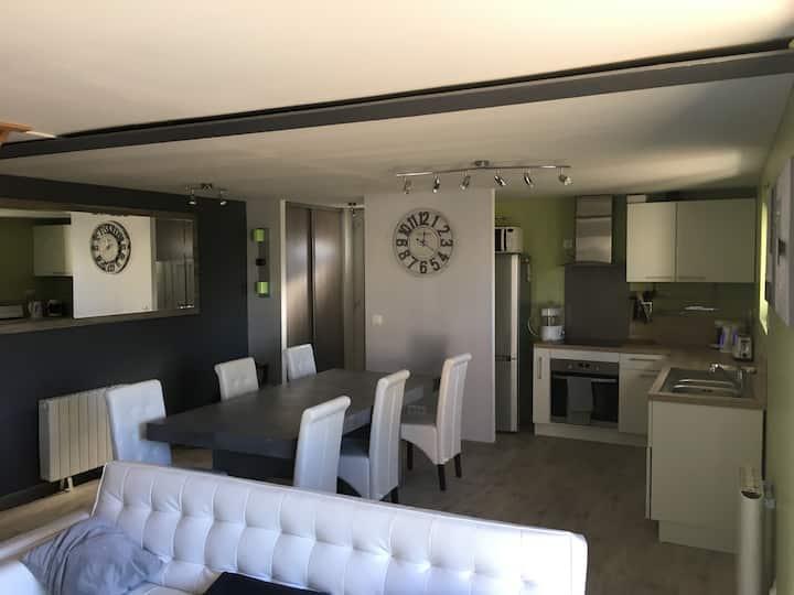 Appartement entre Tours et Le Mans (proche A28)