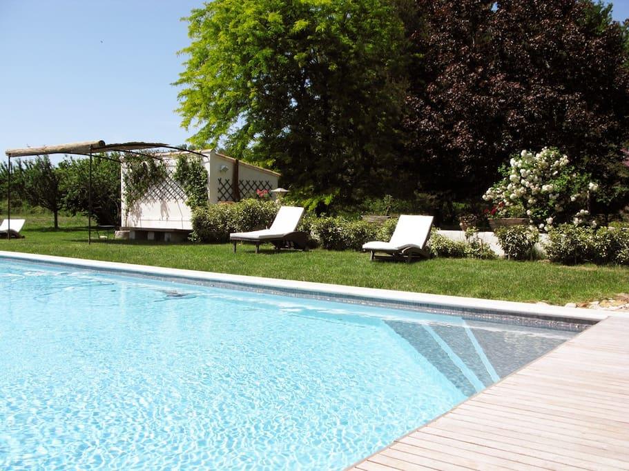 Villa m lodie st remy 6 ha piscine maisons louer for Camping saint remy de provence avec piscine