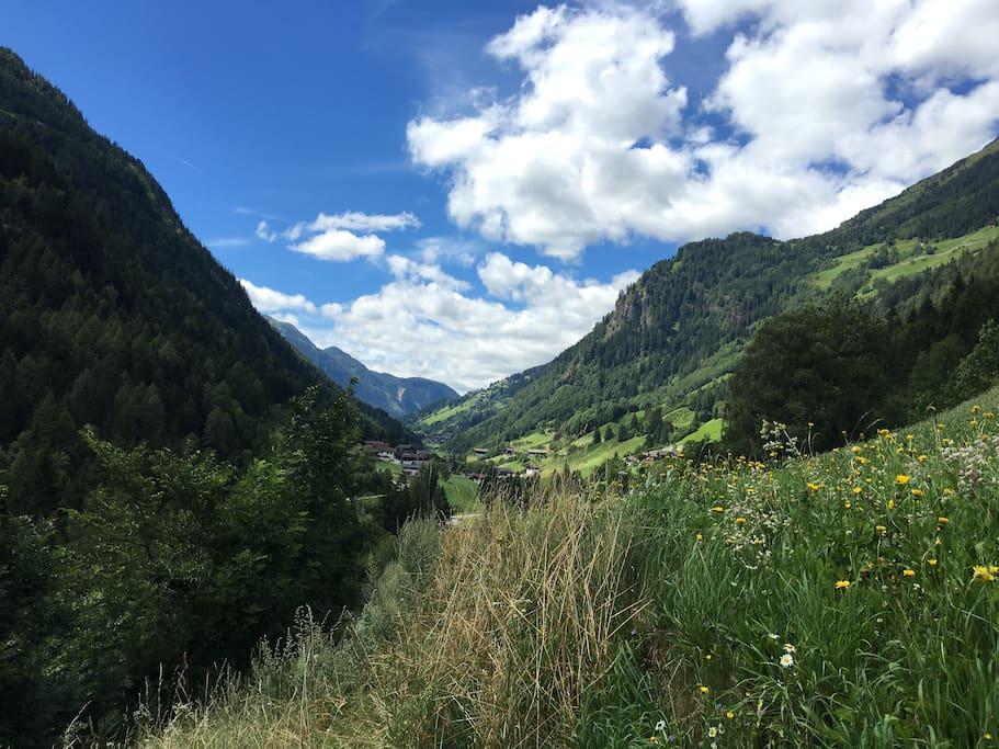 Entering the valley: Defereggental