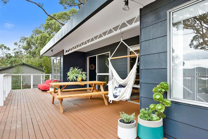 Boho Beach House - stylish with spectacular views