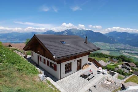 Chalet Panoramix Torgon - Wallis - Vionnaz - Chatka w górach