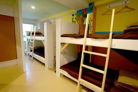 Hostel Casa Noda 女性専用ドミトリー2段ベッドの1段 - Nagasaki