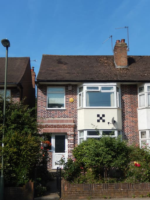 Our 1930s home in North London