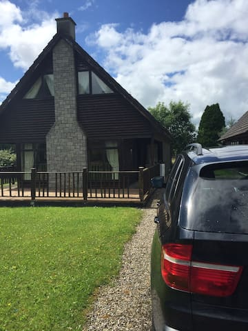 Lodge in Portumna on the shores of Lough Derg.