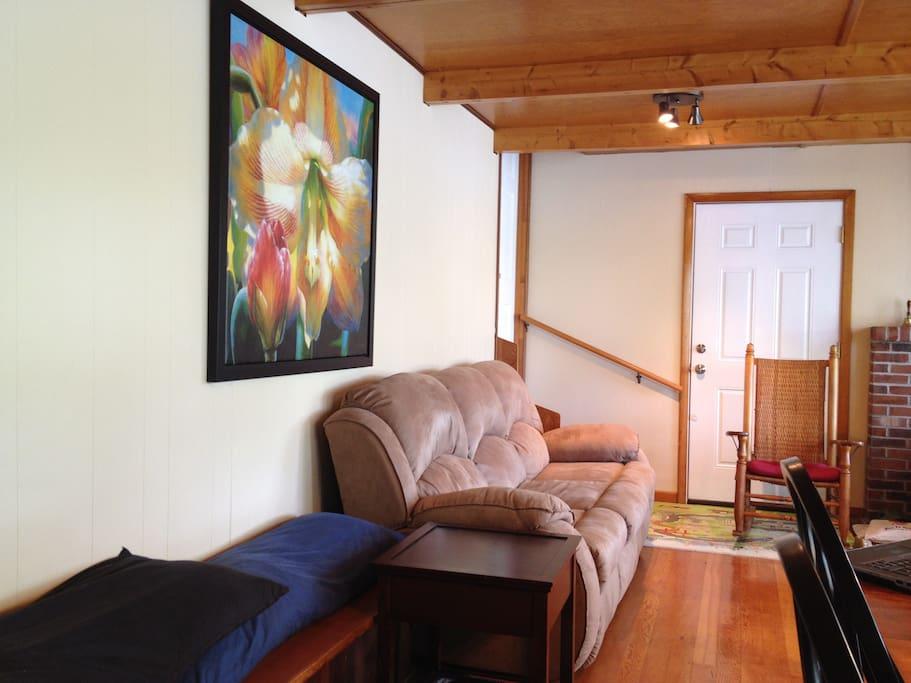 Recliner-sofa