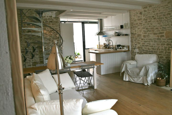 Sweet home in the village - Saint-Clément-des-Baleines - Ev