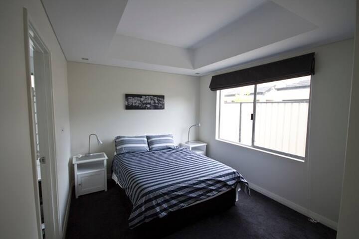 Bedroom 1  - door to ensuite