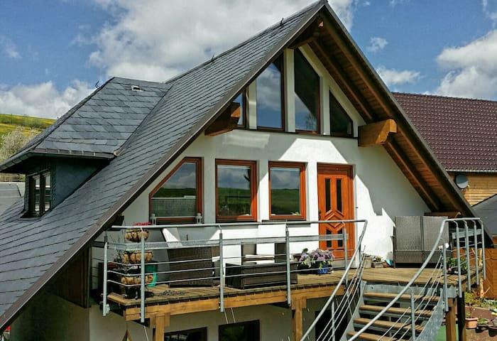 5 Sterne Ferienwohnung am Rennsteig - Oberland am Rennsteig - Daire