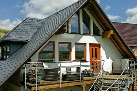 5 Sterne Ferienwohnung am Rennsteig - Oberland am Rennsteig - Appartement