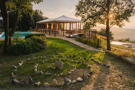 Studio in a beautiful Tuscan Villa - Seggiano - Villa