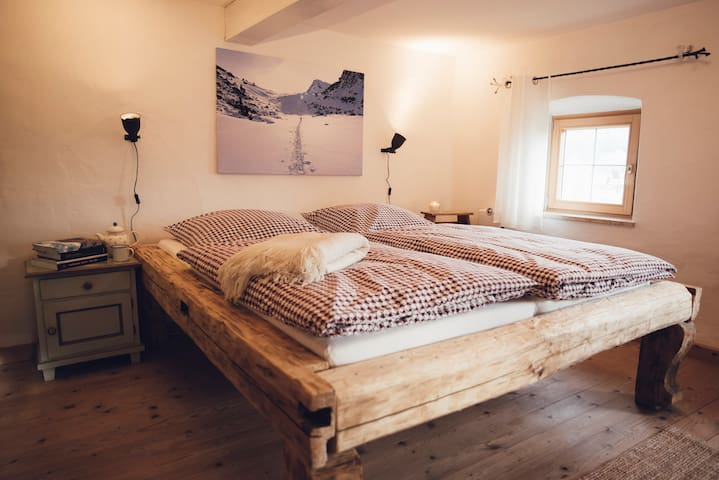 the 'Master Bedroom' just waiting for you...  180 X 200 bed (two separate mattresses of 90 X 200)