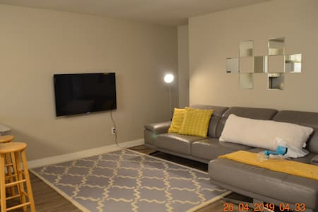 1400 sqft 2 bedroom suite with private patio