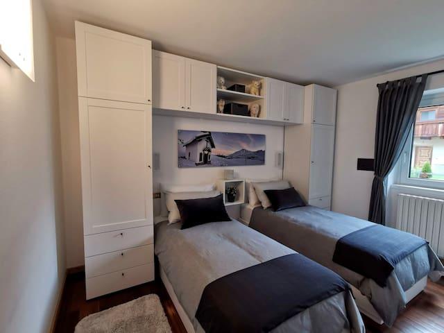 Terza camera con due letti singoli