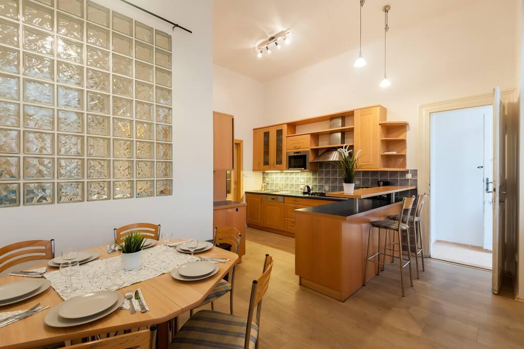 prague appartment-pragueforyou-kitchen