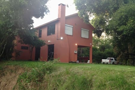 Casa agradável junto ao Rio Jacuí
