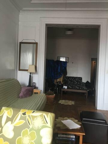 Cozy East Village Room in huge apartment