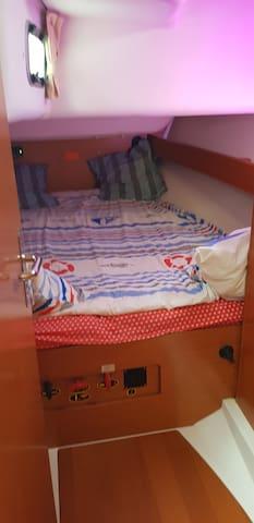 Votre chambre côte bâbord
