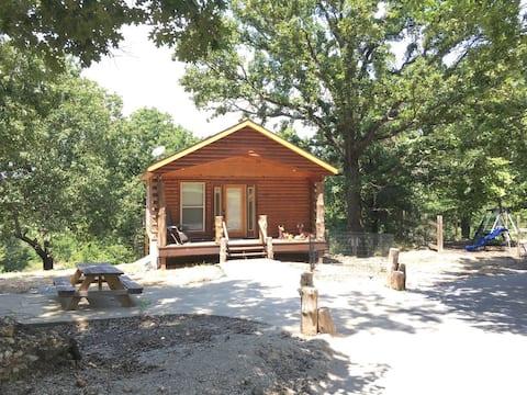 Little House on the Prairie Cabin Near Horse Creek