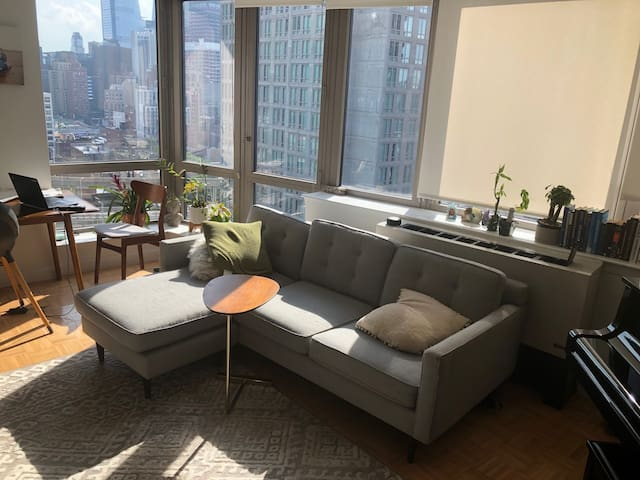 1-BR Doorman building in Hells Kitchen w/ a View!