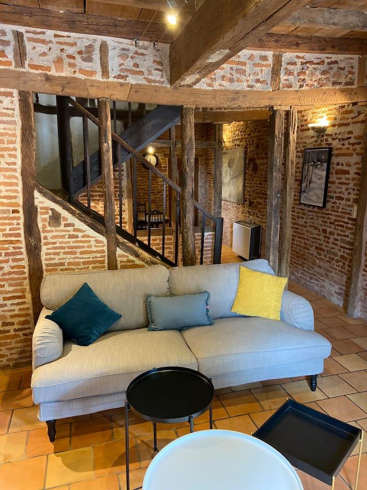 Maison de charme dans le vieux Gaillac