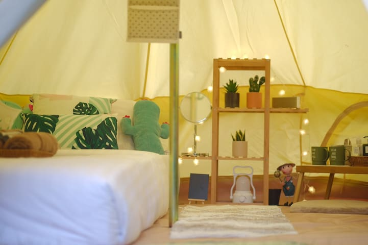 O Little Tent de Koh Chang Queen Bed M Size
