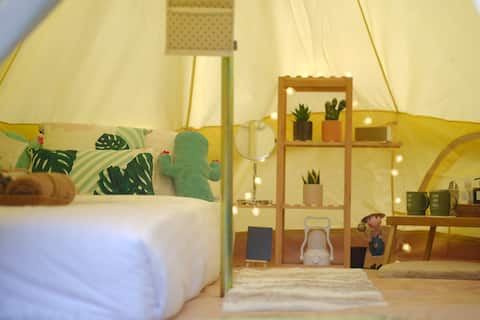 O Little Tent de Koh Chang Queen Bed M Size
