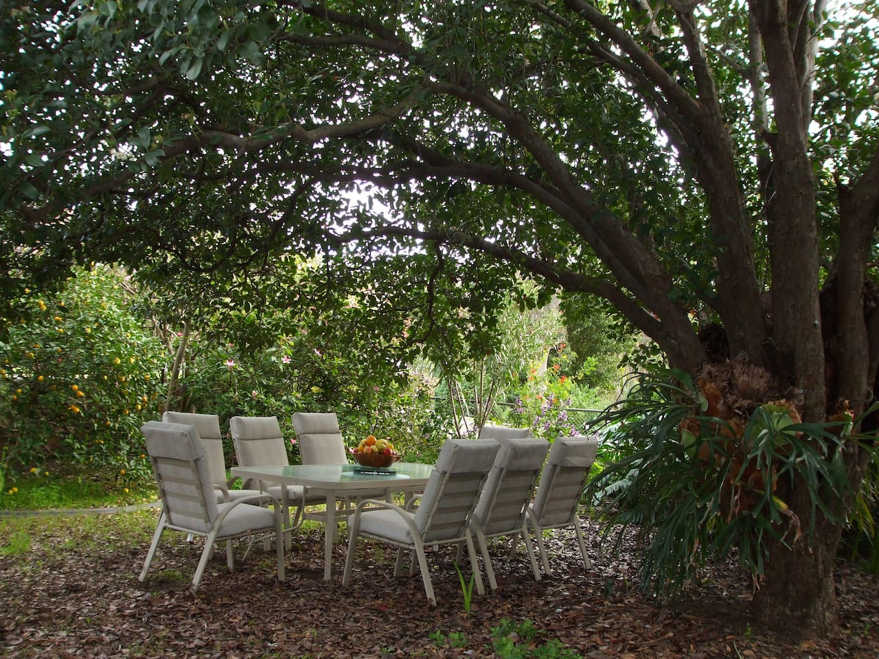 Entertainment areas or a place to just relax in the garden and listen to the birds.