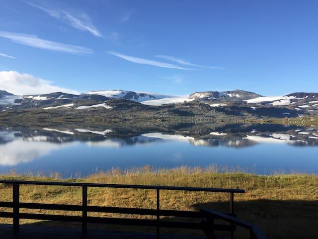 Fantastisk utsikt over Finsevann - Finse - Appartement