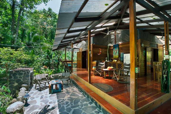 2 Bedroom Caribbean Ecolodge, Private Beach Access