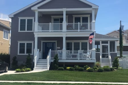 New Beach House, constructed 2016 - Brigantine - Haus