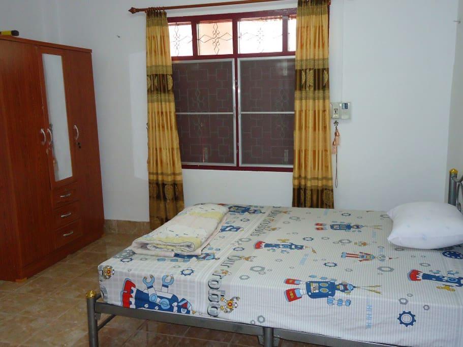 아늑한 휴식을 취할수있는 침실