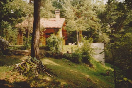 wood forest house romantic place - Albavilla