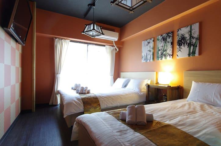 [Luggage deposit OK] TF JPN suite room Shin-Osaka
