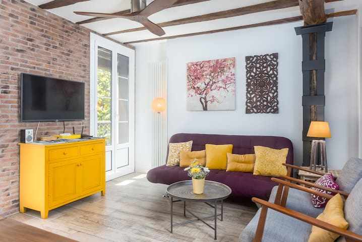 Mooi appartement in hartje San Sebastian