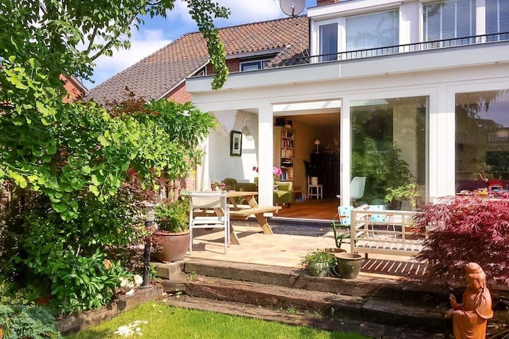 Bright family home, sunny garden, near Amsterdam - Landsmeer - Hus
