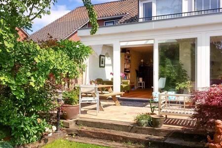 Bright family home, sunny garden, near Amsterdam - Landsmeer - House
