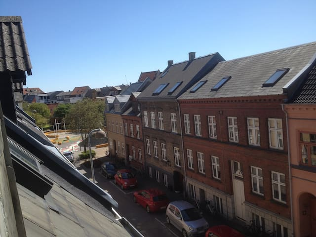 Penthouse in the middle of Odense - Odense - Departamento