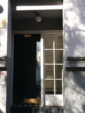 This is the front door to my place.  It is only for units 3, 6 and 9.  Mine is number 6