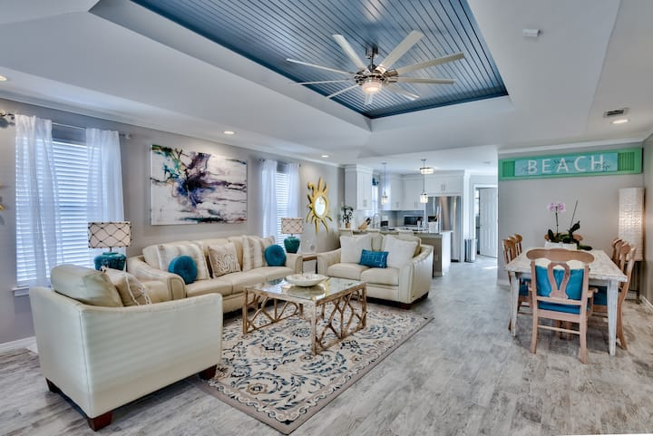 3 min to Beach - Super Clean – Just Renovated!