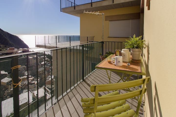 Cinque terre d'Amare:Big Apartment with sea view
