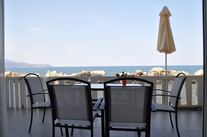 Parianna N4 7 meters from the sea!! - Chania - Apartamento