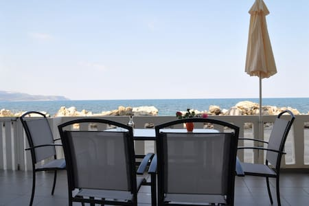 Parianna N4 7 meters from the sea!! - Chania - Apartment