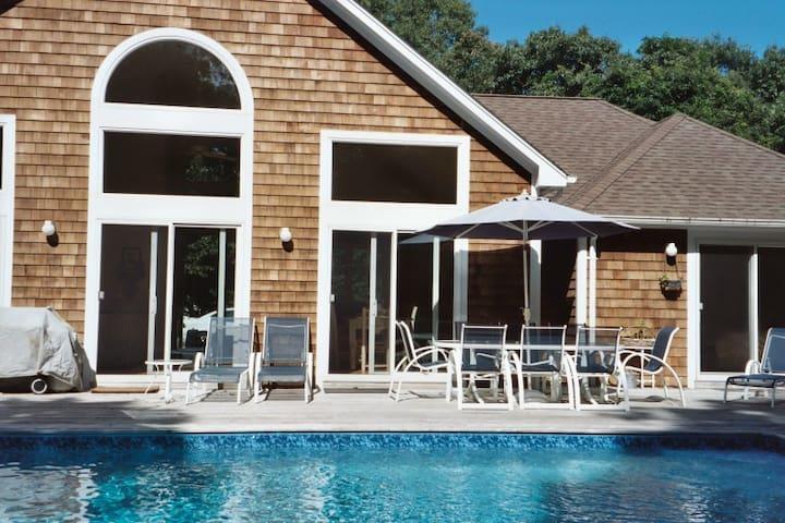 Pretty East Hampton Village Fringe  - Hansom Hills